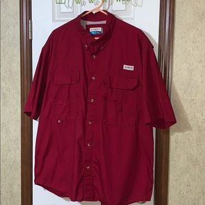 Magellan Button Up Fishing Shirt